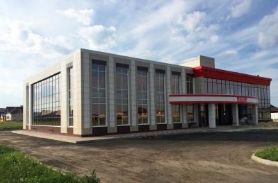 Отопление торгового центра в Новосадовом