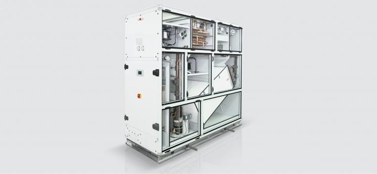Компактная система для осушения воздуха плавательных бассейнов