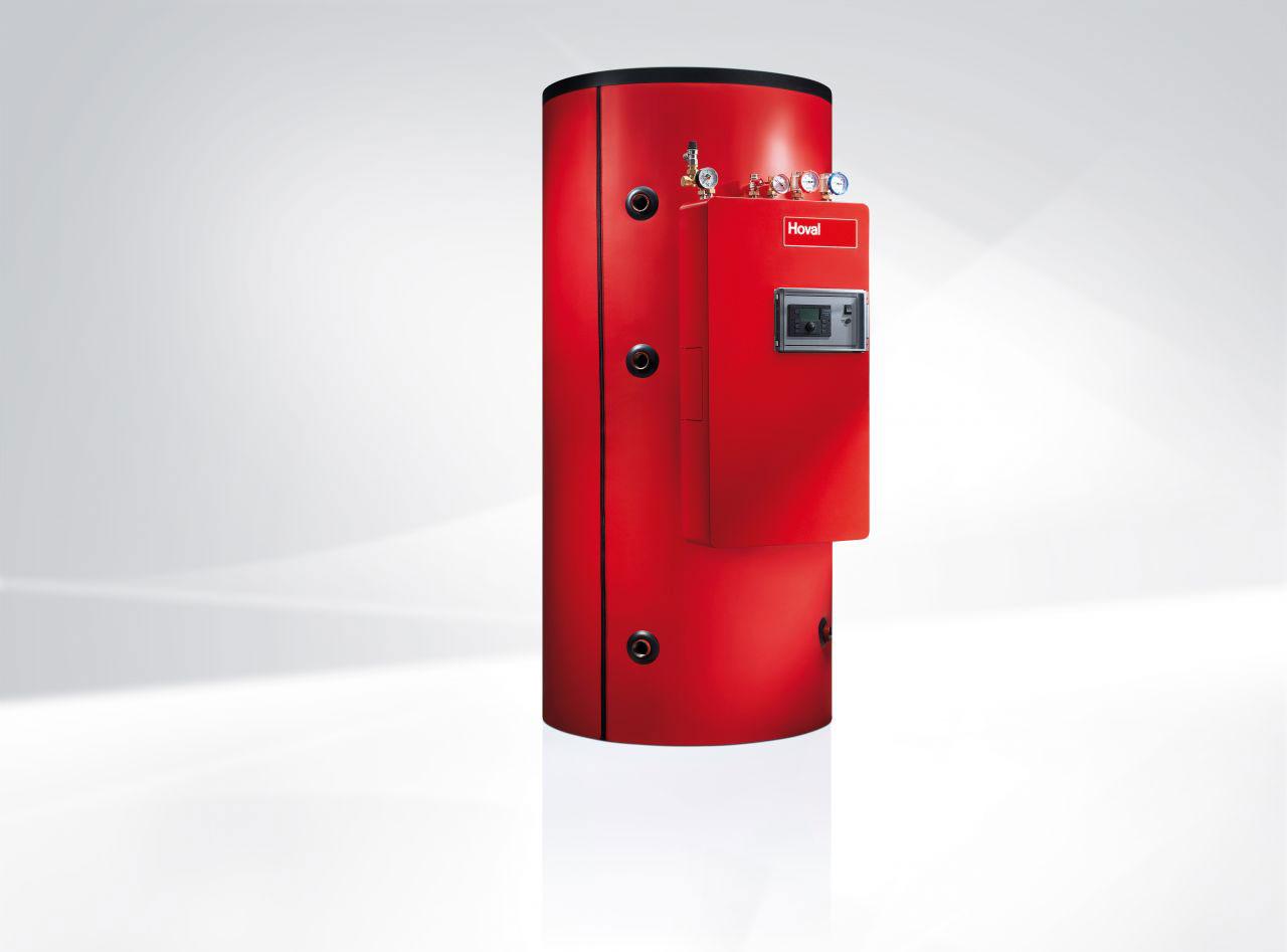 Экономный теплоаккумулятор для отопления и приготовления горячей воды