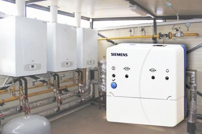 Успешные испытания веб-сервера Siemens OZW 672 автоматикой конденсационных котлов BAXI
