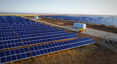 В Саратовской области введена в строй Орлов-Гайская солнечная электростанция