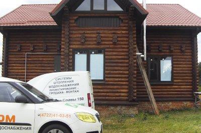 Монтаж отопления в деревянном доме