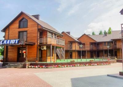 Отопление гостиничного комплекса Салют