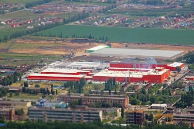 Завод по производству утеплителей.